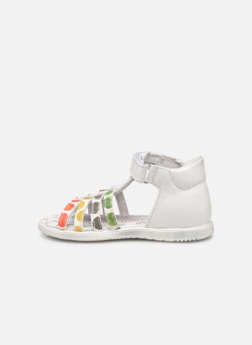 Sandales et nu-pieds Bopy Repois Blanc vue face
