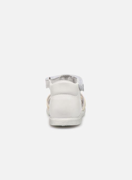 Sandales et nu-pieds Bopy Repois Blanc vue droite