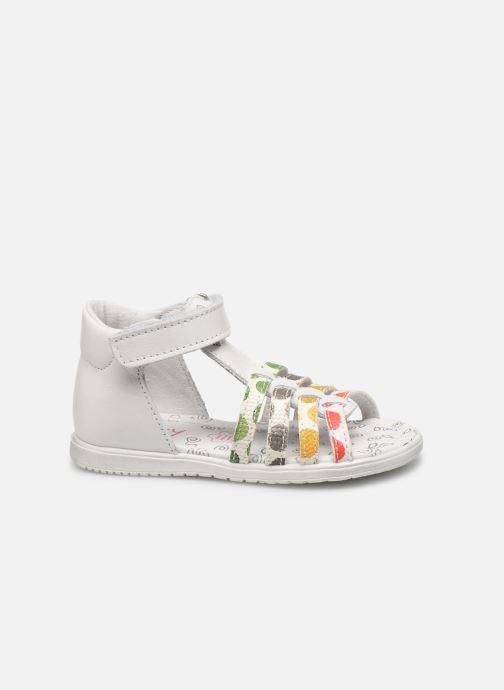 Sandales et nu-pieds Bopy Repois Blanc vue derrière