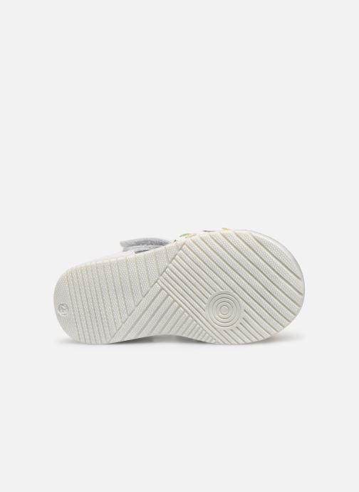 Sandales et nu-pieds Bopy Repois Blanc vue haut