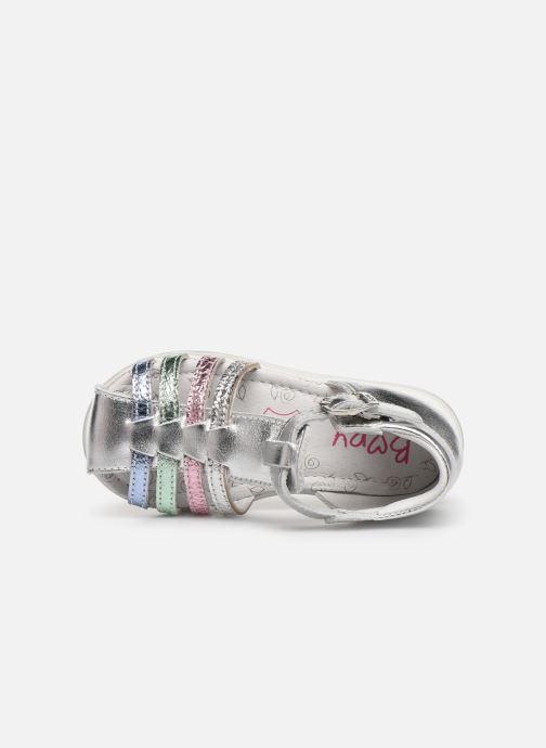 Sandales et nu-pieds Bopy Ricura Argent vue gauche