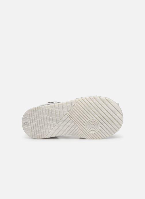 Sandales et nu-pieds Bopy Ricura Argent vue haut