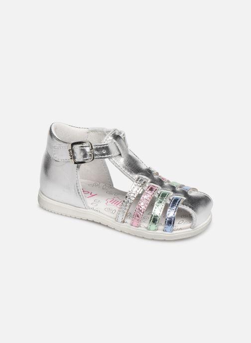 Sandales et nu-pieds Bopy Ricura Argent vue détail/paire