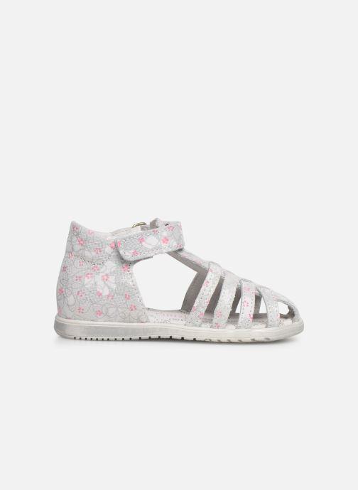 Sandales et nu-pieds Bopy Rifluo Blanc vue derrière