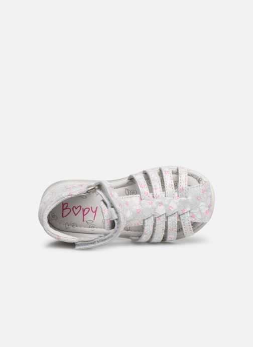 Sandals Bopy Rifluo White view from the left