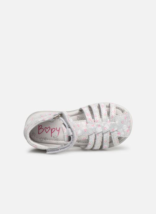Sandales et nu-pieds Bopy Rifluo Blanc vue gauche
