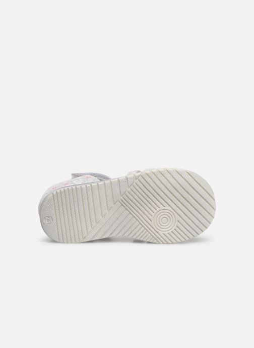 Sandales et nu-pieds Bopy Rifluo Blanc vue haut