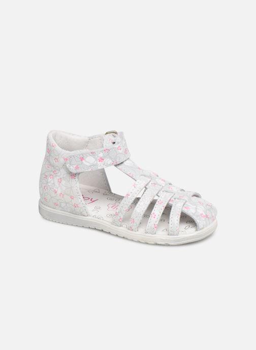 Sandales et nu-pieds Bopy Rifluo Blanc vue détail/paire