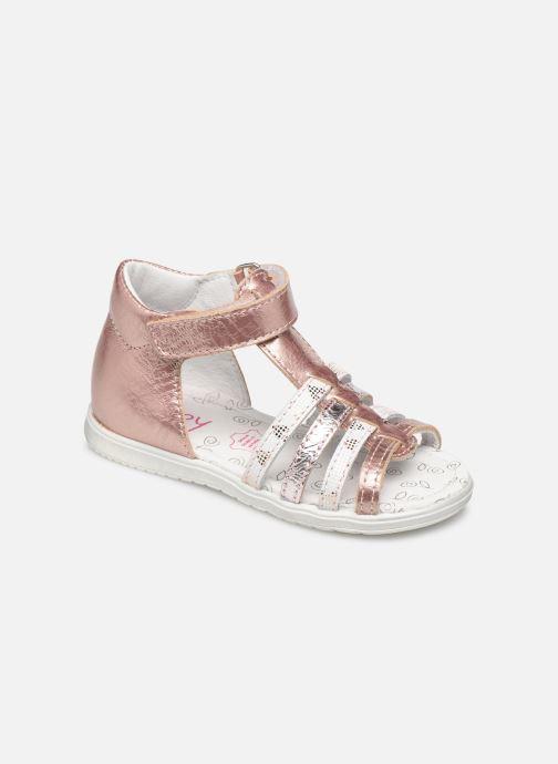 Sandales et nu-pieds Bopy Ronda Rose vue détail/paire