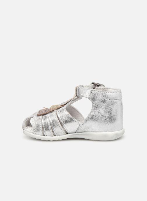Sandales et nu-pieds Bopy Zenata Argent vue face