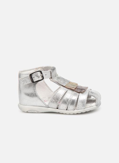 Sandalen Bopy Zenata Zilver achterkant