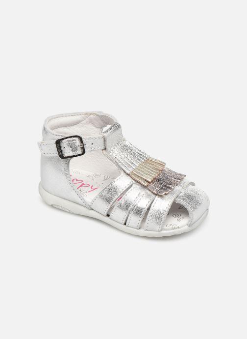 Sandals Bopy Zenata Silver detailed view/ Pair view