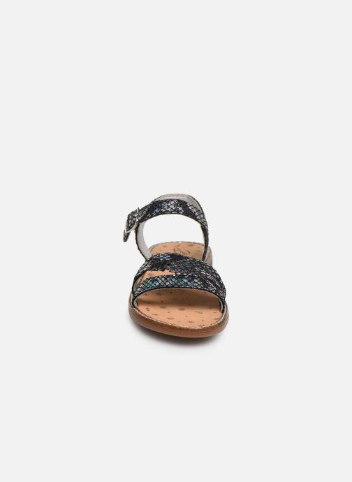 Sandales et nu-pieds Bopy Elmina Noir vue portées chaussures
