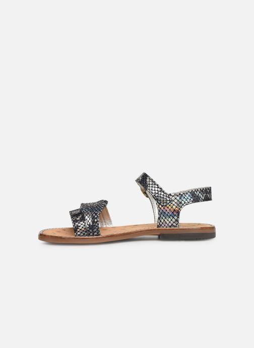Sandales et nu-pieds Bopy Elmina Noir vue face