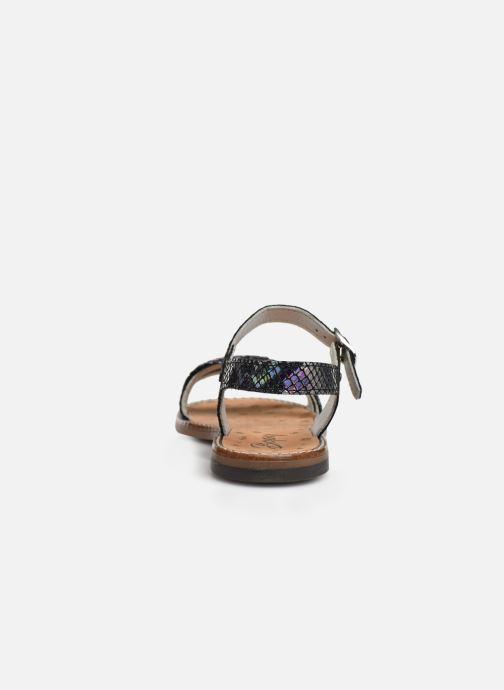 Sandales et nu-pieds Bopy Elmina Noir vue droite