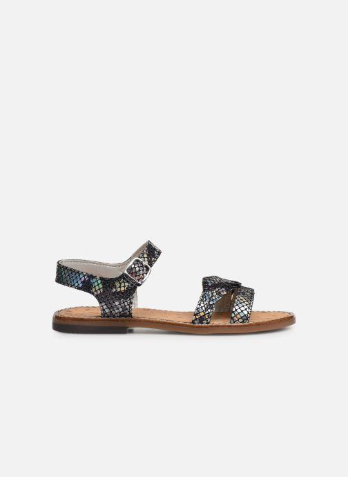 Sandales et nu-pieds Bopy Elmina Noir vue derrière