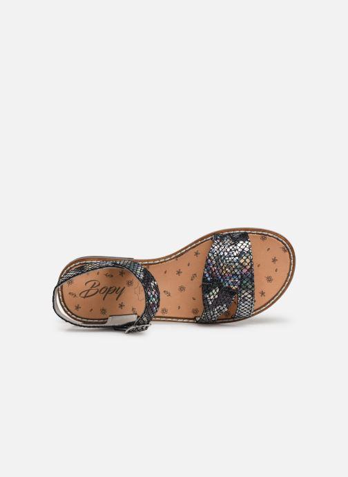 Sandales et nu-pieds Bopy Elmina Noir vue gauche