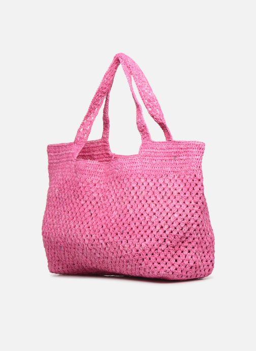 Borse Facteur Céleste MADA Rosa modello indossato