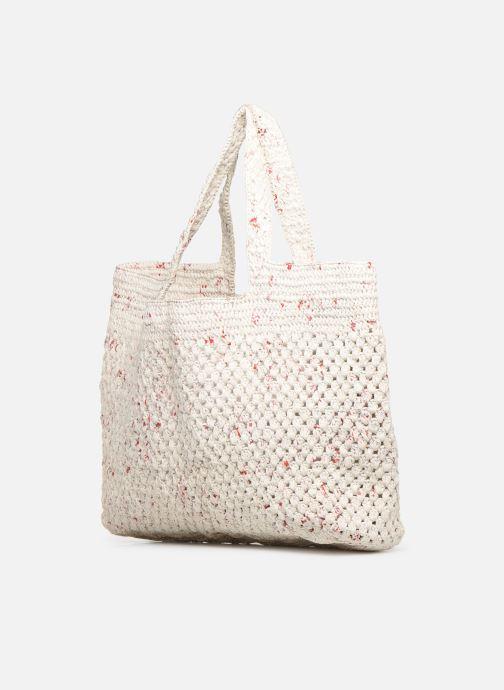 Handtaschen Facteur Céleste MADA weiß schuhe getragen