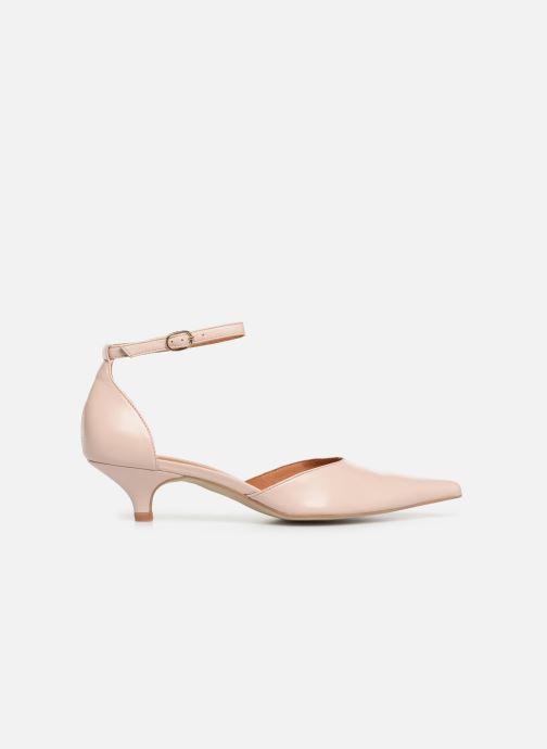 Zapatos de tacón Georgia Rose Tehila Beige vistra trasera
