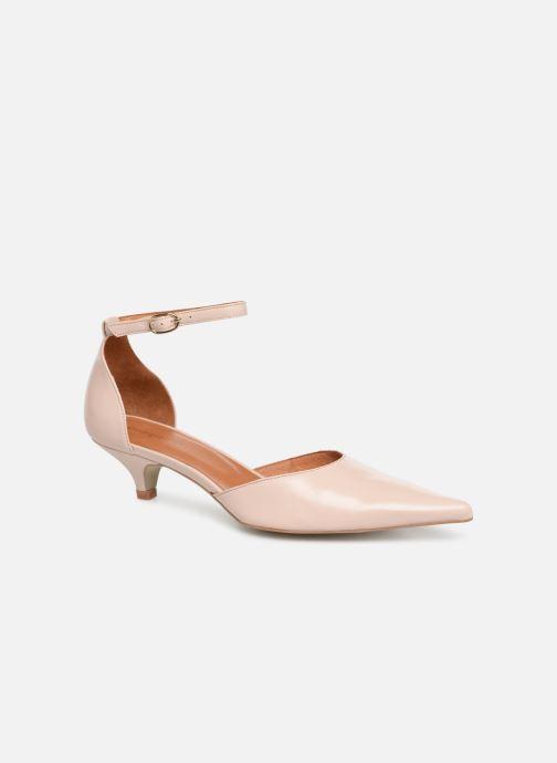 Zapatos de tacón Georgia Rose Tehila Beige vista de detalle / par