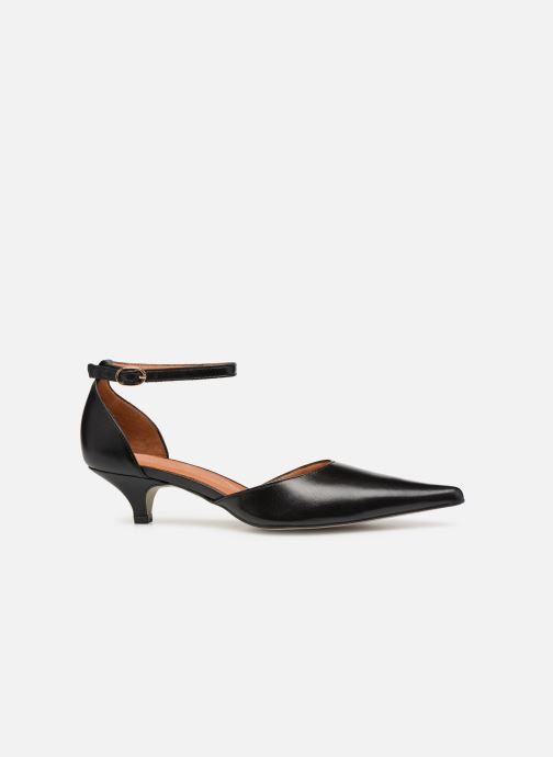 Zapatos de tacón Georgia Rose Tehila Negro vistra trasera