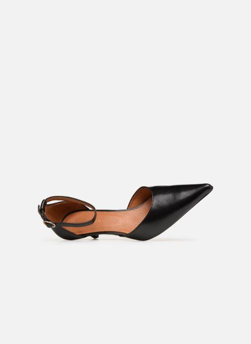 Zapatos de tacón Georgia Rose Tehila Negro vista lateral izquierda