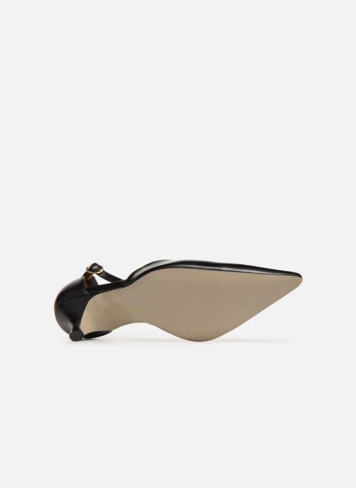 Zapatos de tacón Georgia Rose Tehila Negro vista de arriba