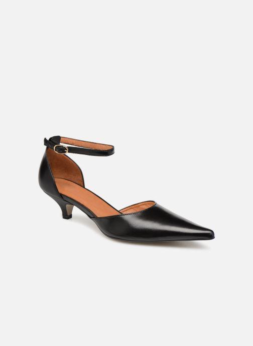 Zapatos de tacón Georgia Rose Tehila Negro vista de detalle / par