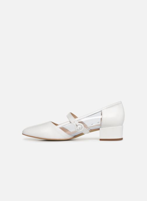 Ballerines Georgia Rose Taplexa Blanc vue face