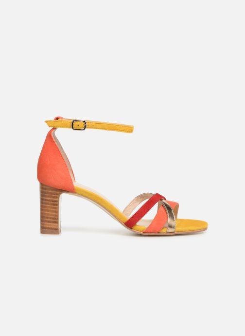 Sandales et nu-pieds Georgia Rose Tabrida Orange vue derrière