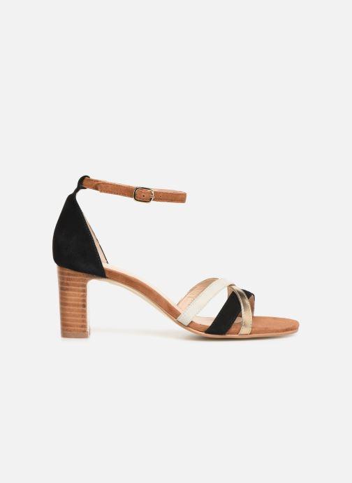 Sandales et nu-pieds Georgia Rose Tabrida Marron vue derrière