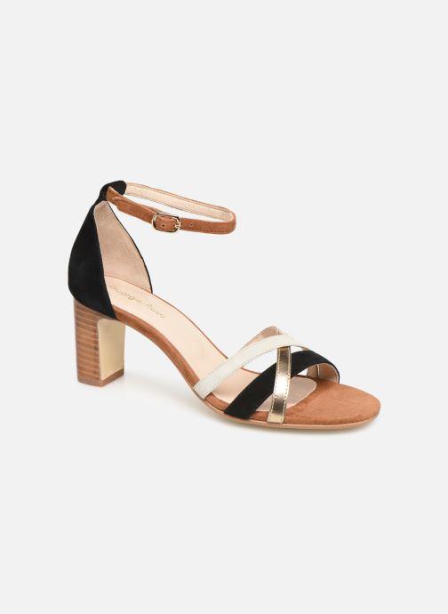 Sandales et nu-pieds Georgia Rose Tabrida Marron vue détail/paire