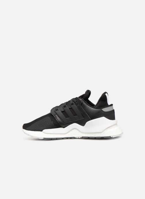 Deportivas adidas originals Eqt Support 91/18 Negro vista de frente