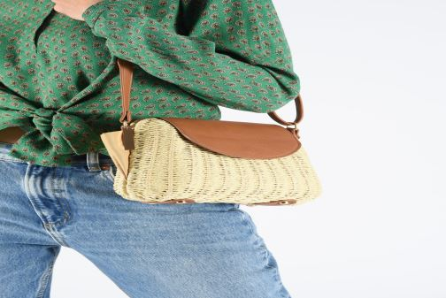Handbags Gioseppo VIESTE Beige view from underneath / model view