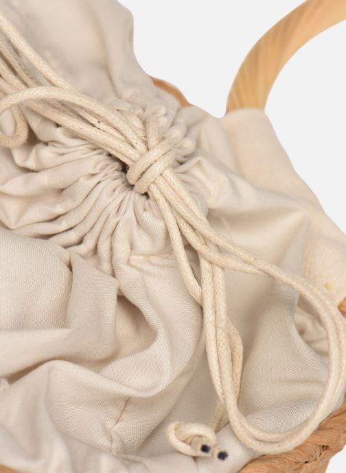 Handtaschen Gioseppo ROSOLINA beige ansicht von links
