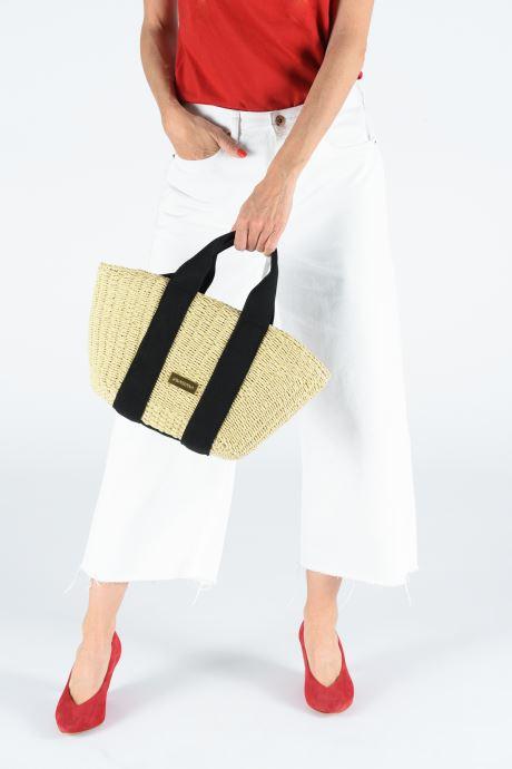 Handtaschen Gioseppo SCILLA beige ansicht von unten / tasche getragen