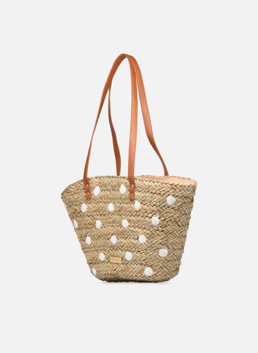 Handtaschen Gioseppo DONINI beige schuhe getragen