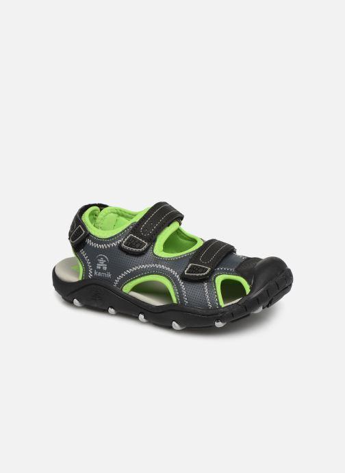 Sandals Kamik Seaturtle2 Grey detailed view/ Pair view