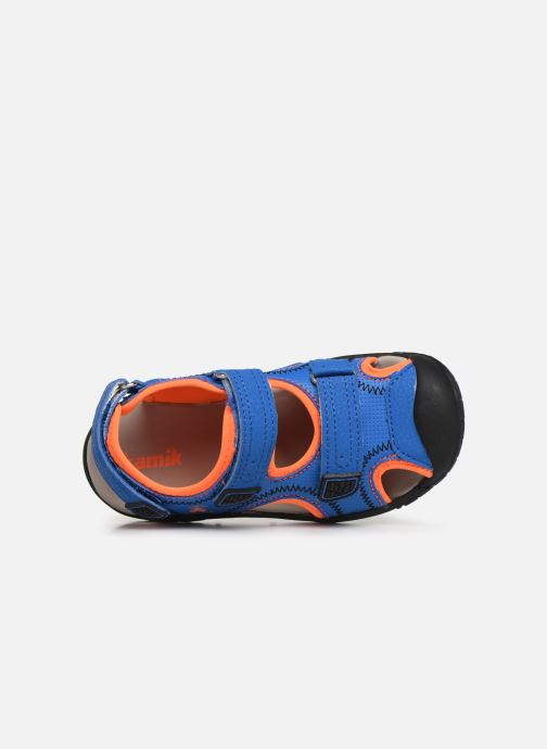 Sandaler Kamik Seaturtle2 Blå se fra venstre