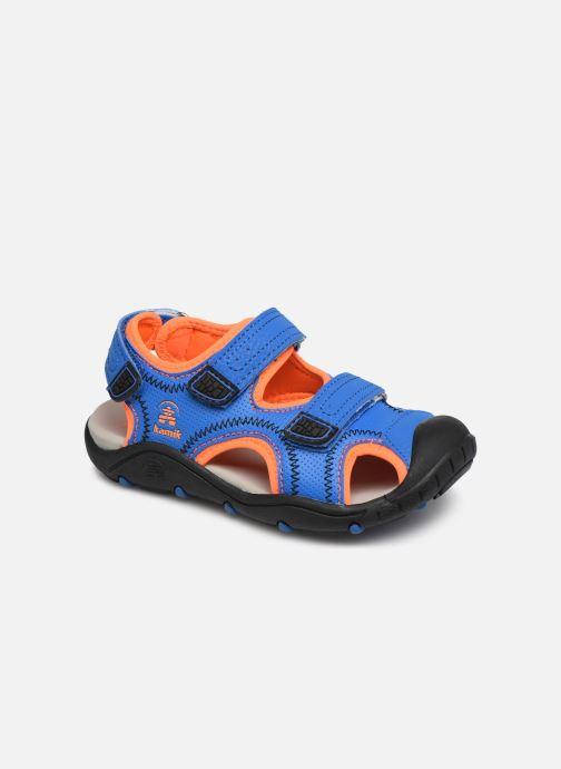 Sandals Kamik Seaturtle2 Blue detailed view/ Pair view