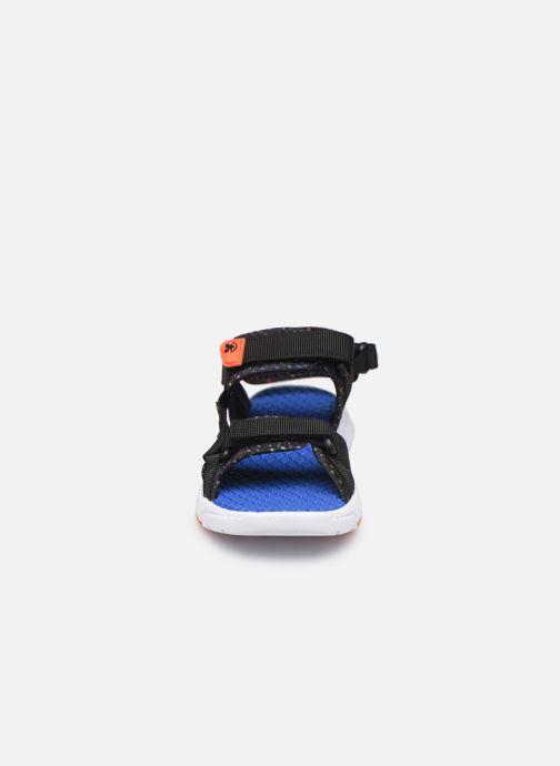 Sandales et nu-pieds Kamik Match2 Noir vue portées chaussures