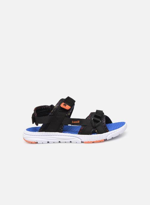 Sandales et nu-pieds Kamik Match2 Noir vue derrière