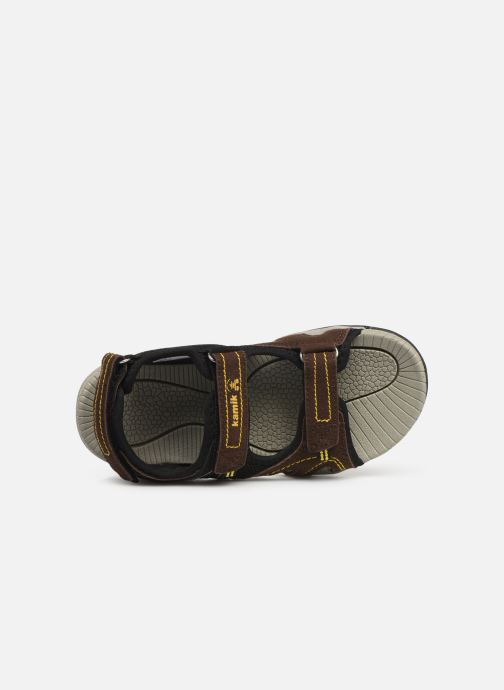 Sandals Kamik Cape Brown view from the left