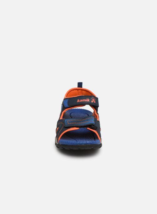 Sandales et nu-pieds Kamik Dune Bleu vue portées chaussures