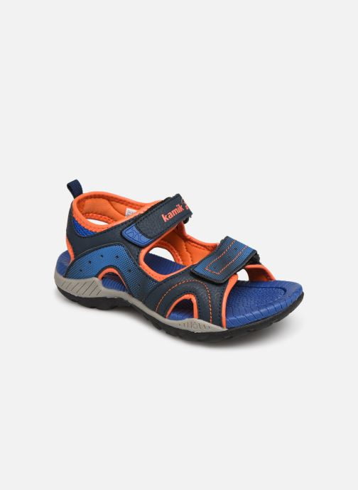Sandales et nu-pieds Kamik Dune Bleu vue détail/paire