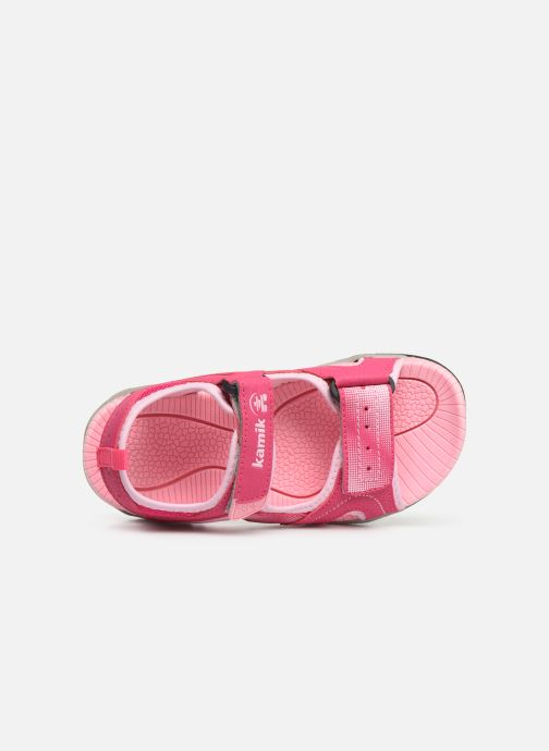 Sandales et nu-pieds Kamik Dune Rose vue gauche