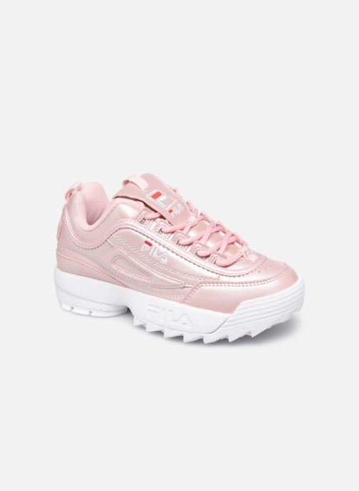Baskets FILA Disruptor M Kids Rose vue détail/paire