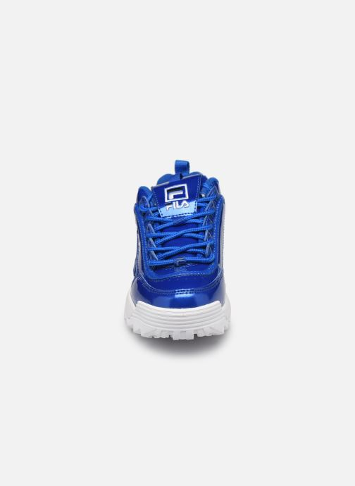 Sneaker FILA Disruptor M Kids blau schuhe getragen