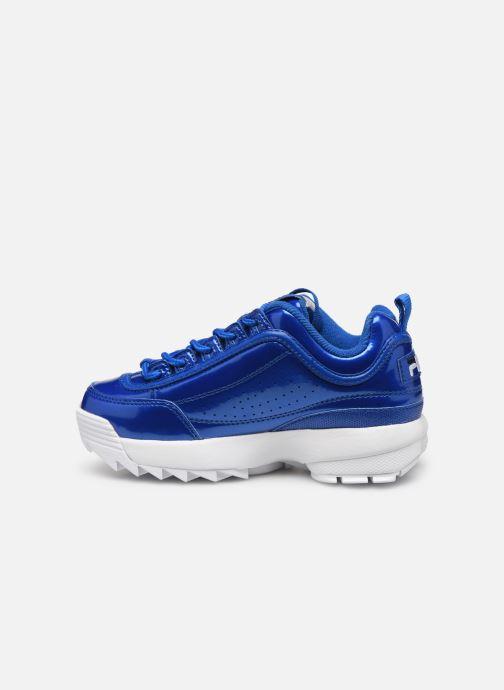Sneakers FILA Disruptor M Kids Blauw voorkant